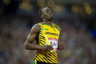 Usain Bolt will retire after the world championships in August. Photo / Greg Bowker
