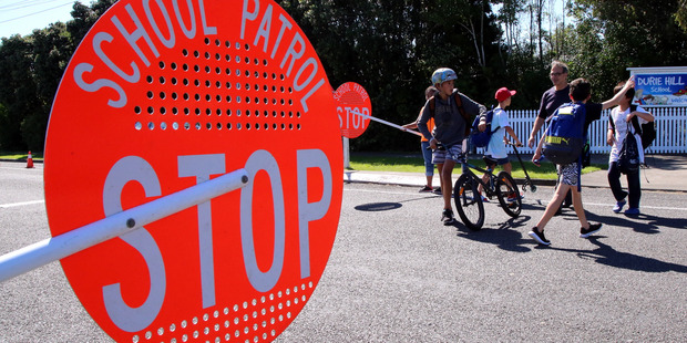 A study has found that children can't effectively judge traffic. Photo / NZME