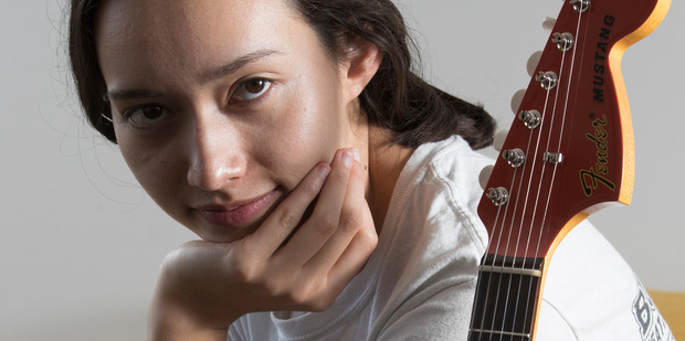 Amelia Murray says she makes her best music in her bedroom. Photo/Greg Bowker.