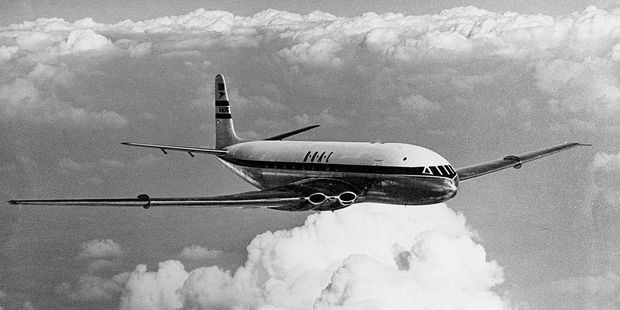 1. A BOAC Comet ushered in the jet airline age on this day in which year? Photo / Getty Images