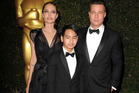Angelina Jolie, Maddox Jolie-Pitt and Brad Pitt had a rough time in that plane. Photo / Getty Images