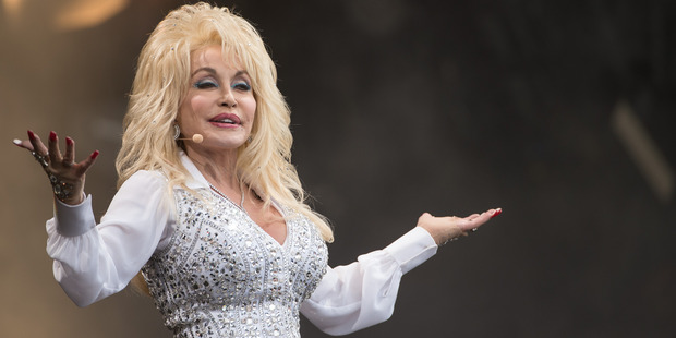 Dolly Parton performing at Glastonbury Festival in 2014. Photo / Getty