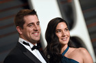 NFL star Aaron Rodgers and actress Olivia Munn announced an end to their relationship. Photo / Getty