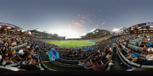 Eden Park will host plenty of rugby during the Lions tour. Photo / Getty