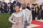 Kim and Kanye at last year's Met Gala. Photo / Getty