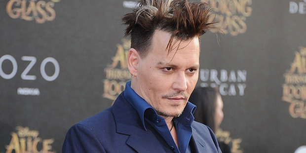 Johnny Depp apparently doesn't even bother to learn his lines. Photo / Getty Images