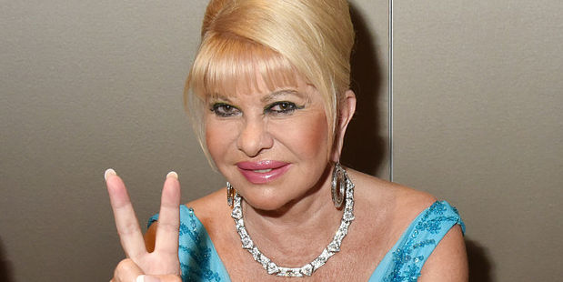 Ivana Trump pictured in Saint-Tropez, France, in  August last year. Photo / Getty