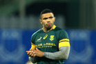 Bryan Habana in action for the Springboks. Photo / Getty Images.