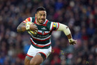Manu Tuilagi in action for the Leicester Tigers earlier this year. Photo / Getty Images.