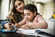 A concerned mother has shared a fiery post about the ridiculous amount of homework her daughter is expected to complete each night. Photo / Getty