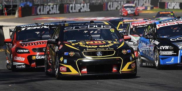 David Reynolds during race 2 for the Clipsal 500. Photo / Getty Images