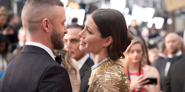 Jessica Biel and Justin Timberlake share parenting duties fairly evenly. Photo / Getty