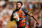 James Tedesco of the Tigers. Photo / Getty