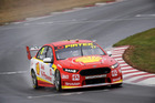 Scott McLaughlin during qualifying forthe Tasmania SuperSprint. Photo / Getty Images