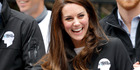 Catherine, Duchess of Cambridge at the The Virgin Money London Marathon. Photo / Getty Images