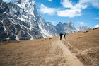 Hiking in Nepal can bring feelings of wealth. Photo / Getty Images.