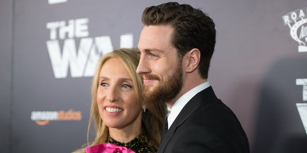 Artist Sam Taylor-Wood, 50, is married to actor Aaron Johnson, 26. Photo / Getty Images