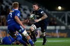 Liam Squire runs the ball against Stormers. Photo / Getty