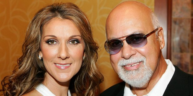 Singer Celine Dion and her husband and manager Rene Angelil. Photo / Getty