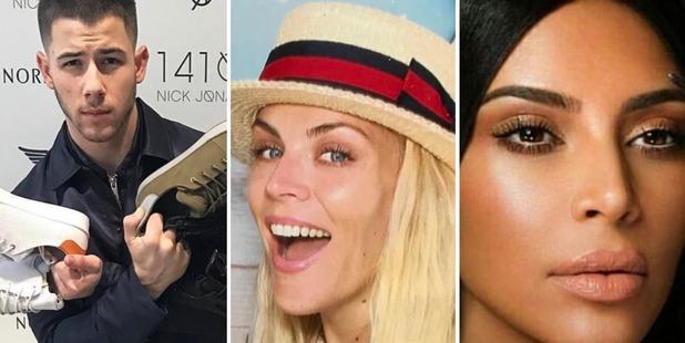 Nick Jonas, Busy Phillips and Kim Kardashian. Photos / Instagram