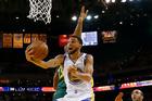 Golden State Warriors' Stephen Curry drives past Utah Jazz's Rudy Gobert. Photo / AP