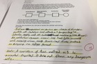 Saudi students who copied from previous exam papers - even reproducing a marker's note - were allowed to pass the course.