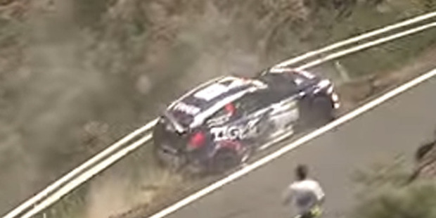 One driver (and his co-pilot) got insanely lucky this week following a crash. Photo / Youtube.
