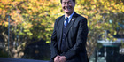Dr. Lobsang Sangay of the Central Tibetan Administration, photographed at NZME on Monday. 01 May 2017. New Zealand Herald photograph by Nick Reed.