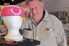 Taihape retailer Allan Thomas reckons he sold Adele a headband. Photo /  Lin Ferguson