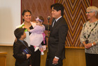 Citizenship Ceremony. Bonot family.
