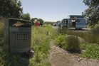 Freedom campers. A scene from Gutsful. Photo / TVNZ