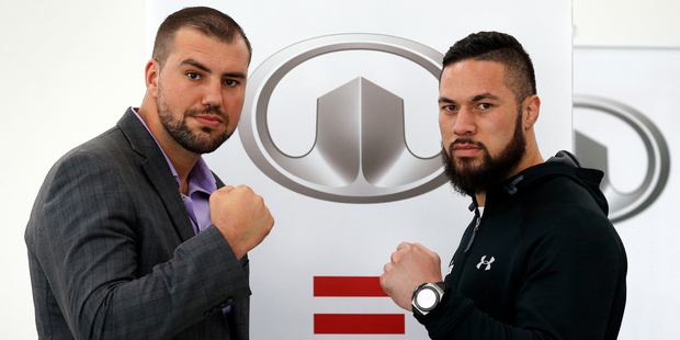 Joseph Parker and Razvan Cojanu - the financial hits keep coming for TV fight fans. Photo / Photosport