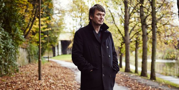 Author Ian Rankin.