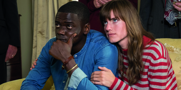 Daniel Kaluuya and Allison Williams star in Get Out, directed by Jordan Peele.