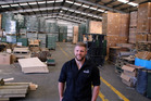 Bryn Hudson, business development manager at Settlers Honey. Photograph by Stuart Munro.
