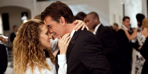 Carrie and Mr Big in a scene from Sex and the City. Photo / Sourced