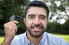 Josh Foreman will graduate with a Master's in exercise science today - thanks to his cochlear implant. Photo/Greg Bowker