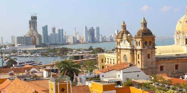 Loading Colombia can be a very dangerous place to visit. Photo / 123RF