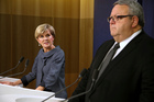 There are no further changes in the pipeline for Kiwi expatriates, says Australian Foreign Minister Julie Bishop, here at a press conference with  Foreign Minister Gerry Brownlee following bilateral in Sydney today. Photo / AP.
