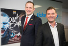 Charlie McEwen, Chief Operating Officer (left) and Nigel Cass, British and Irish Lions General Manager. Photo / Nick Reed