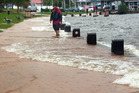 Flooding at Rotorua Lakefront. Photo/File