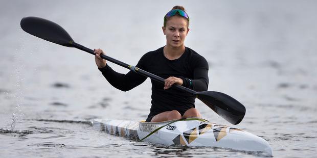 Lisa Carrington headlines the New Zealand canoeing team for two world cup events. Photo / Brett Phibbs