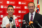 Labour Party deputy leader Jacinda Ardern and Labour Party leader Andrew Little. Photo / Mark Mitchell