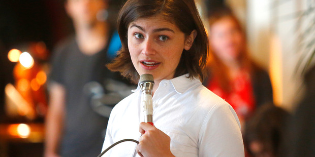 Green Party candidate Chloe Swarbrick has opened up about battling depression.