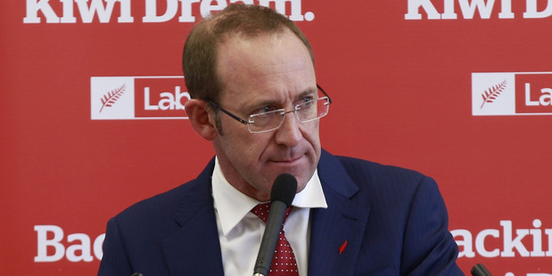 Loading Labour Party leader Andrew Little. Photo Nick Reed