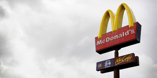 Police are hunting for two men who held up a McDonald's restaurant near Auckland Airport this morning. Photo / NZME