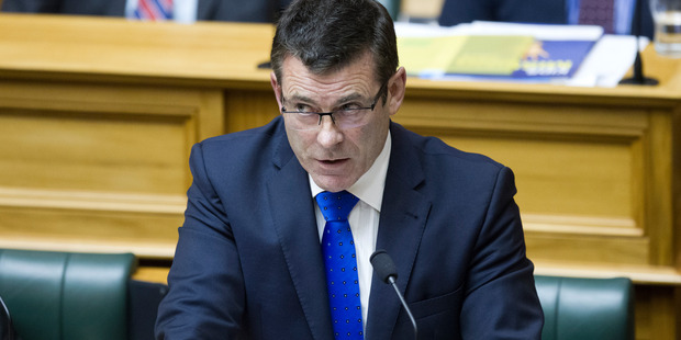 Immigration Minister Michael Woodhouse. New Zealand Herald photograph by Mark Mitchell