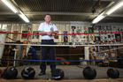 Grant Arkell says his Papatoetoe Boxing Club has a waiting list of 100. Photo / The Aucklander