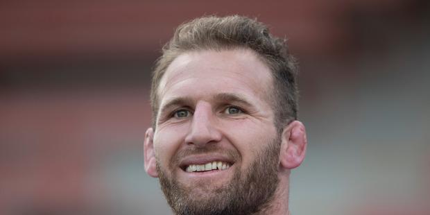 New Zealand All Blacks captain Kieran Read. Photo / Brett Phibbs.