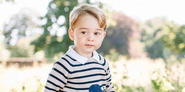 This official photo released by Kensington Palace to mark the 3rd birthday of Prince George in July last year.